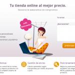 Landing Page Tiendas Web Coruña